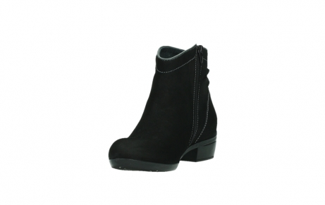 wolky ankle boots 00954 winchester wp 13000 black nubuckleather_9