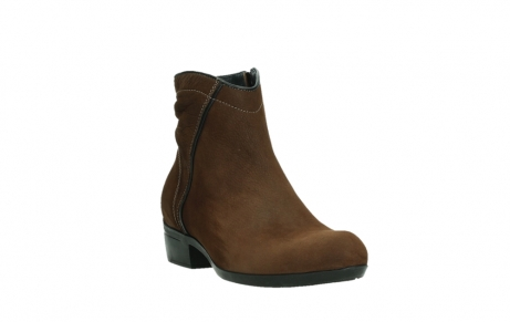 wolky ankle boots 00954 winchester wp 13410 tabaccobrown nubuckleather_5