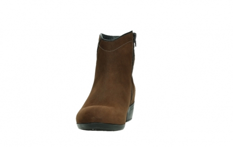 wolky ankle boots 00954 winchester wp 13410 tabaccobrown nubuckleather_8