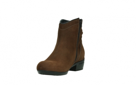 wolky ankle boots 00954 winchester wp 13410 tabaccobrown nubuckleather_9