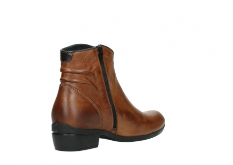 wolky ankle boots 00954 winchester wp 30430 cognac leather_10