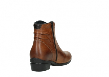 wolky ankle boots 00954 winchester wp 30430 cognac leather_9
