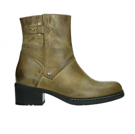 wolky ankle boots 01262 drayton 30920 ocher yellow leather_1