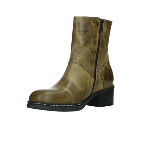 wolky ankle boots 01262 drayton 30920 ocher yellow leather_10