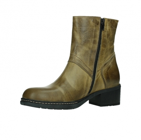 wolky ankle boots 01262 drayton 30920 ocher yellow leather_11