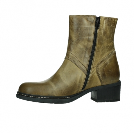wolky ankle boots 01262 drayton 30920 ocher yellow leather_12
