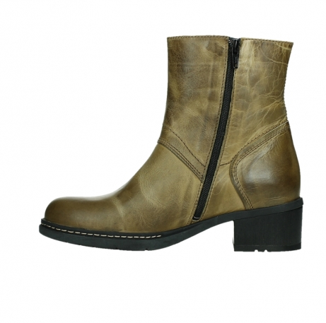 wolky ankle boots 01262 drayton 30920 ocher yellow leather_13
