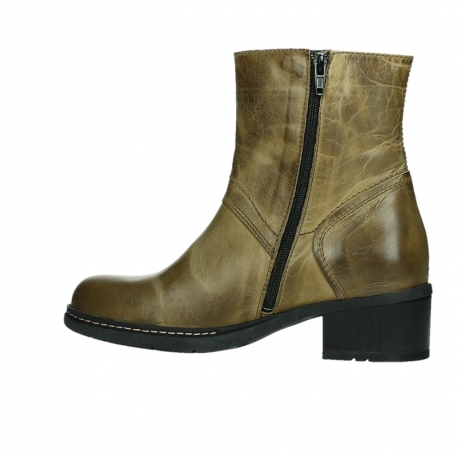 wolky ankle boots 01262 drayton 30920 ocher yellow leather_14