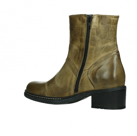 wolky ankle boots 01262 drayton 30920 ocher yellow leather_15