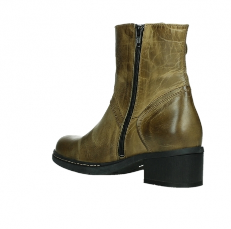 wolky ankle boots 01262 drayton 30920 ocher yellow leather_16