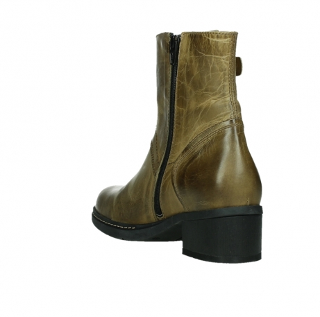 wolky ankle boots 01262 drayton 30920 ocher yellow leather_17