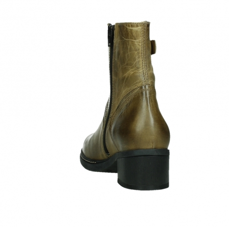 wolky ankle boots 01262 drayton 30920 ocher yellow leather_18