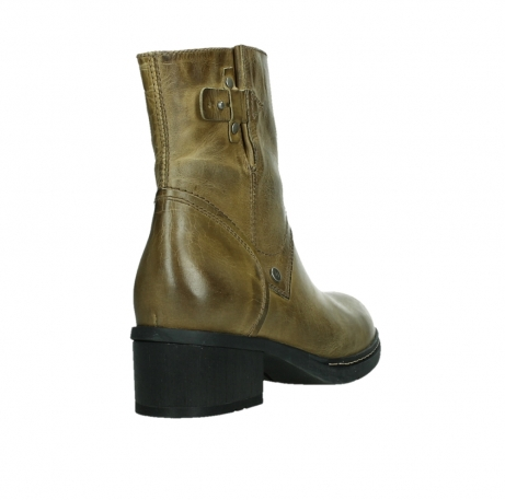 wolky ankle boots 01262 drayton 30920 ocher yellow leather_21