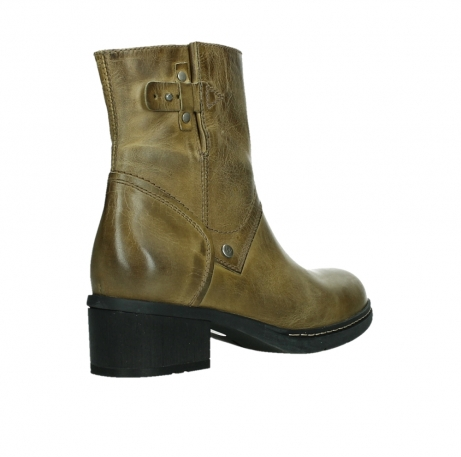 wolky ankle boots 01262 drayton 30920 ocher yellow leather_22