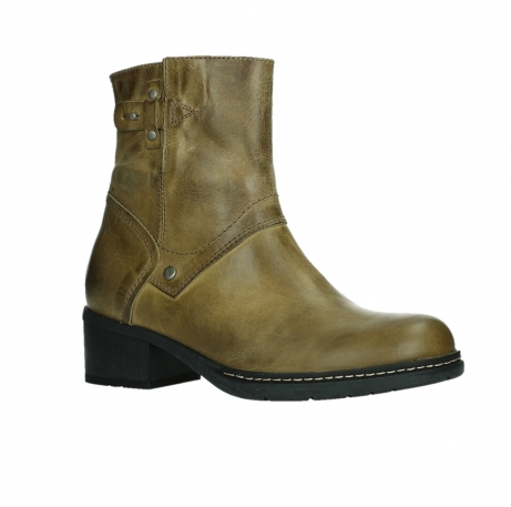 wolky ankle boots 01262 drayton 30920 ocher yellow leather_3