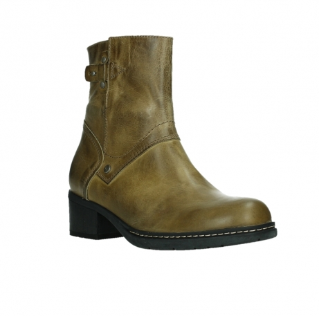 wolky ankle boots 01262 drayton 30920 ocher yellow leather_4