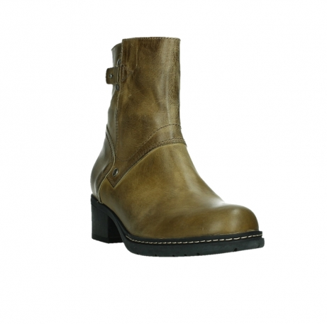 wolky ankle boots 01262 drayton 30920 ocher yellow leather_5