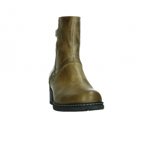 wolky ankle boots 01262 drayton 30920 ocher yellow leather_6