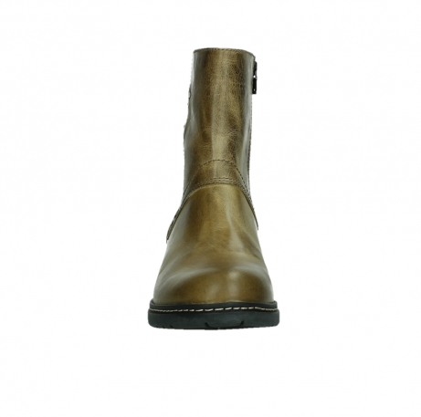wolky ankle boots 01262 drayton 30920 ocher yellow leather_7