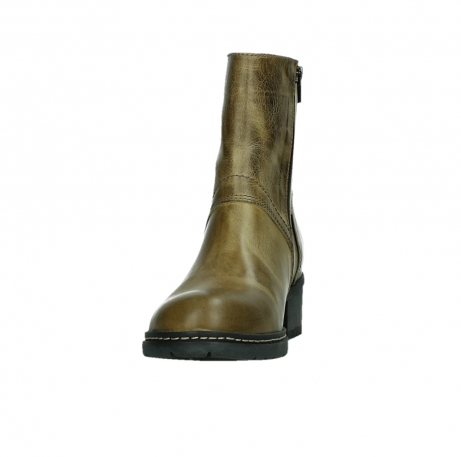 wolky ankle boots 01262 drayton 30920 ocher yellow leather_8