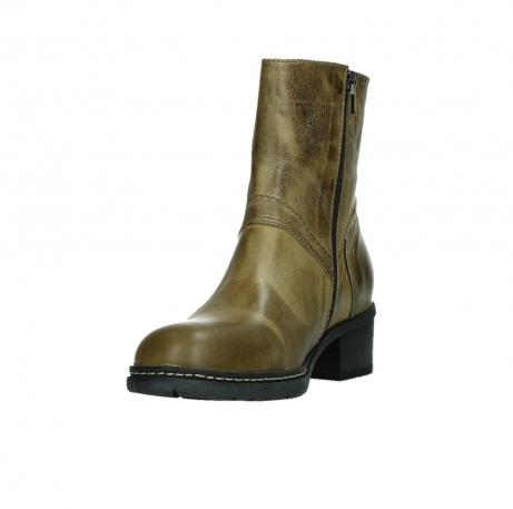 wolky ankle boots 01262 drayton 30920 ocher yellow leather_9