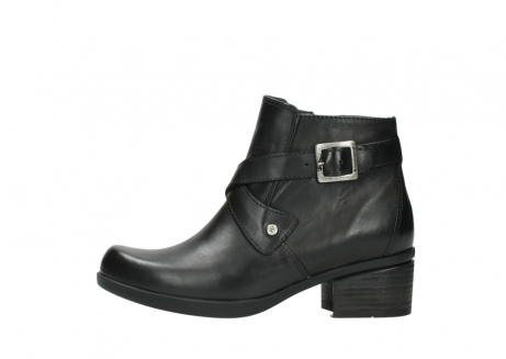 wolky ankle boots 01375 vecchio 30002 black leather_1