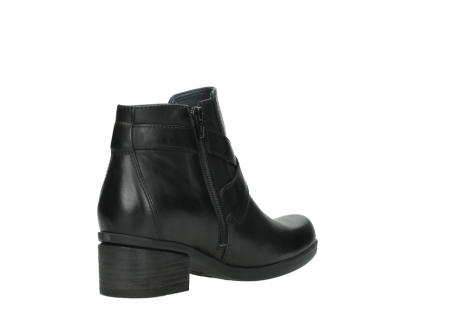 wolky ankle boots 01375 vecchio 30002 black leather_10