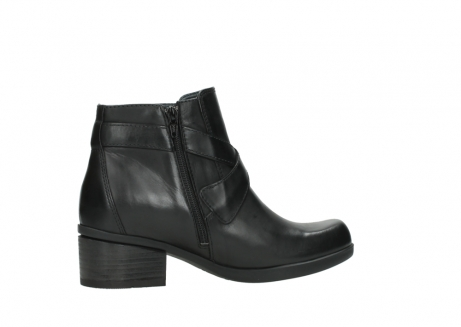 wolky ankle boots 01375 vecchio 30002 black leather_12