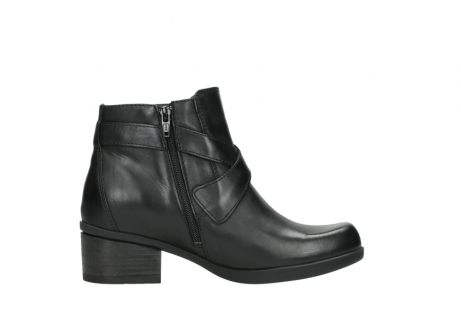 wolky ankle boots 01375 vecchio 30002 black leather_13
