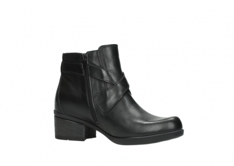 wolky ankle boots 01375 vecchio 30002 black leather_15