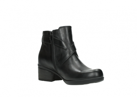 wolky ankle boots 01375 vecchio 30002 black leather_16
