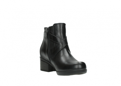 wolky ankle boots 01375 vecchio 30002 black leather_17