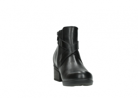 wolky ankle boots 01375 vecchio 30002 black leather_18