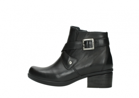 wolky ankle boots 01375 vecchio 30002 black leather_2