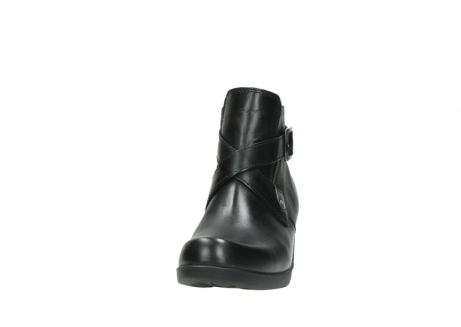 wolky ankle boots 01375 vecchio 30002 black leather_20