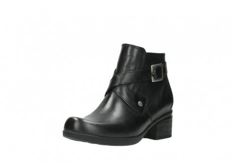 wolky ankle boots 01375 vecchio 30002 black leather_22