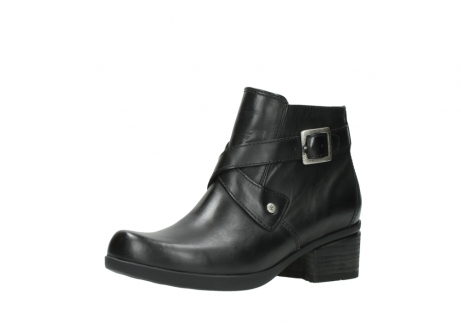 wolky ankle boots 01375 vecchio 30002 black leather_23