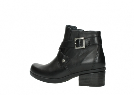 wolky ankle boots 01375 vecchio 30002 black leather_3