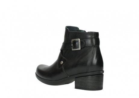 wolky ankle boots 01375 vecchio 30002 black leather_4