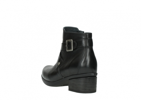 wolky ankle boots 01375 vecchio 30002 black leather_5