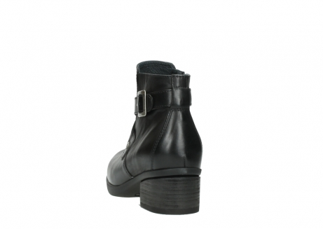 wolky ankle boots 01375 vecchio 30002 black leather_6