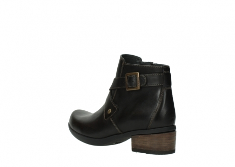 wolky ankle boots 01375 vecchio 30302 brown leather_4