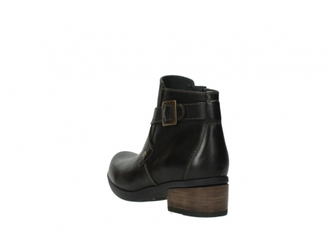 wolky ankle boots 01375 vecchio 30302 brown leather_5