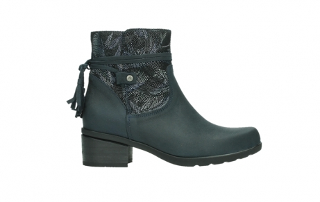 wolky ankle boots 01378 pamban 14800 blue palmmetal suede_1