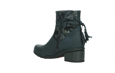 wolky ankle boots 01378 pamban 14800 blue palmmetal suede_16