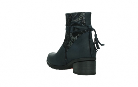wolky ankle boots 01378 pamban 14800 blue palmmetal suede_17