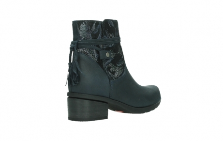 wolky ankle boots 01378 pamban 14800 blue palmmetal suede_22