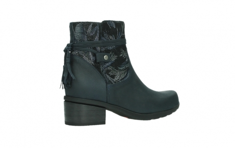 wolky ankle boots 01378 pamban 14800 blue palmmetal suede_23