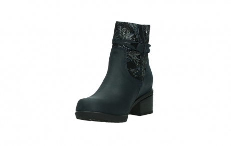 wolky ankle boots 01378 pamban 14800 blue palmmetal suede_9