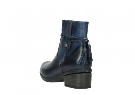 wolky ankle boots 01378 pamban 39800 blue leather_5